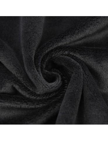 Tissu Peluche Shorty, col.Noir