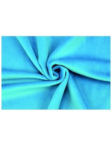 Tissu Peluche Shorty, col.Bleu